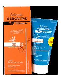 Геровитал Sun H3 Дерма промо пакет( солнцезащитное молоко SPF 30+ регенерирующий гель после загара
