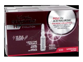 Геровитал Н3 Evolution Промо-пакет Ампулы гиалуроновой кислоты + ампулы гиалуроновая кислота