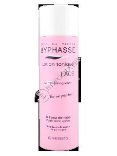 Byphasse Soft lotiune tonica fara alcool cu apa de trandafir