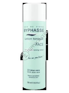 Byphasse Sensi-Fresh  lotiune tonica cu aloe