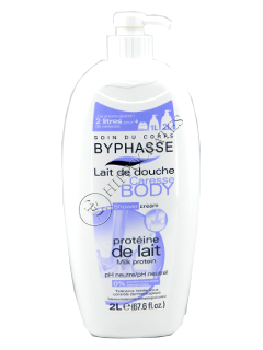 Byphasse Caresse Milk Protein gel de dus 2000 ml