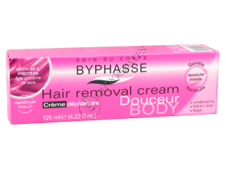 Byphasse Hair Removal Silk Extract crema epilare