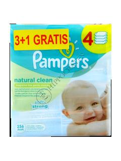 Памперс Baby Naturally Clean салфетки влажные с ромашкой № 64 3+1