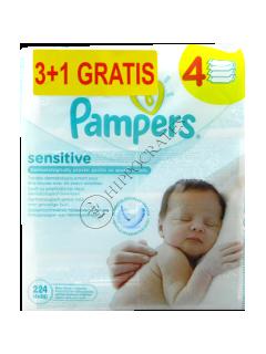 Памперс Baby Sensitive салфетки влажные № 56 3+1