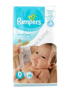 Pampers PRO Care № 38 0 de la 2,5 kg
