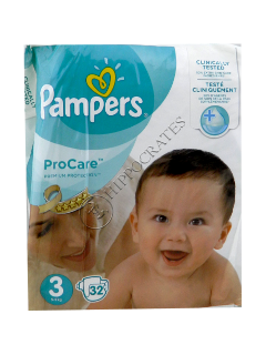 Памперс PRO Care 3 № 32 4-9 кг