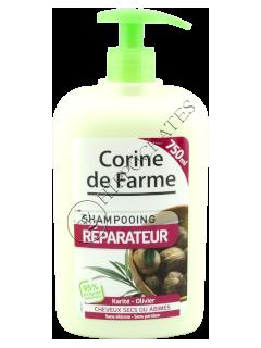 КФ Шампунь восстановляющий  масло ши и оливковое масло