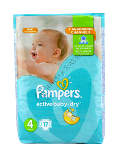 Pampers MAXI 4 (8-14 kg)  № 17