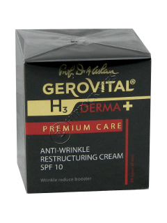 Gerovital H3 Derma+ Premium Care crema Antirid Restructuranta SPF 10