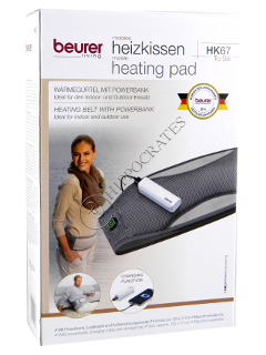 Beurer Пояс согревающий с внешним аккумулятором 2500 mAh
