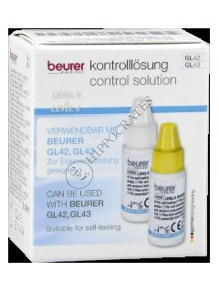 Beurer Контрольный раствор GL42 для глюкометра Beurer