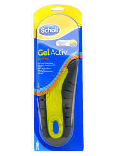 Scholl Стельки Gelactiv Work Men