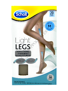 Scholl Колготки Light Legs 20 DEN beige (M)