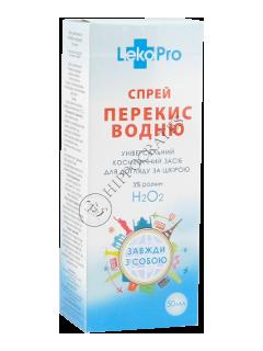 ЛекоПро Перекись водорода 3 % спрей