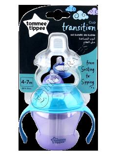 TT Переходная чашка (4 — 7 мес.) 150 мл (фиолетовая)/44708587