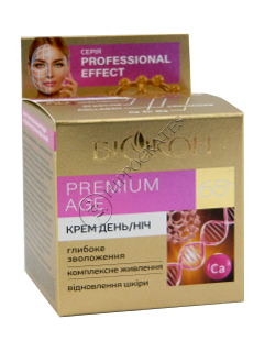 Биокон Professional Efect Крем дневной и ночной Premium Age 65+