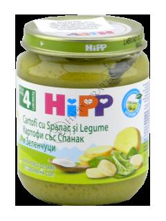HIPP Пюре овощное Картошка и шпинат