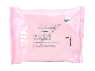 Byphasse Make-up Remover servetele demachiante proteine de lapte №20