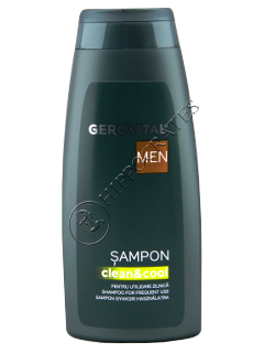 Gerovital  Men sampon utilizare zilica 400 ml