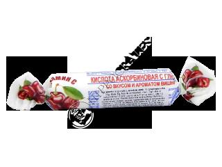 Аскорбиновая кислота с глюкозой (витамин С) вишня