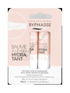 Byphasse  balsam pentru buze hidratant 2 buc*4,8 g