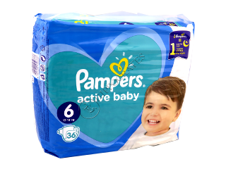 Pampers EXTRA LARGE 15+kg