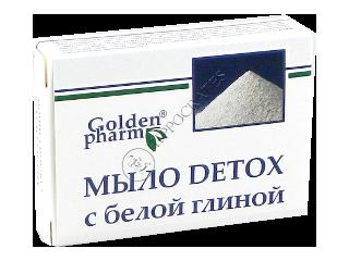 ГФ Мыло Детокс с белой глиной 70 г