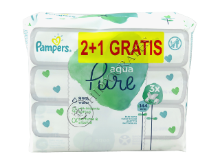 Pampers Baby Wipes Aqua Pure