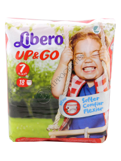 Libero UP & GO XL + 16-26 kg scutece № 18