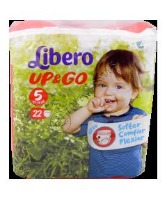 Либеро UP & GO Maxi + 9-14 kg подгузники № 22