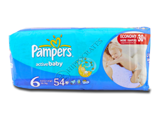 Pampers Extra Large 6 № 56 15+ kg