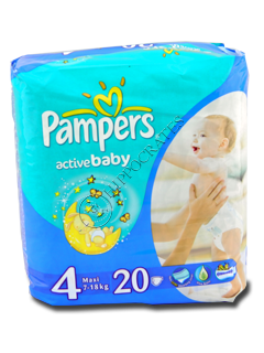 Pampers Maxi 4 № 20 7-14kg