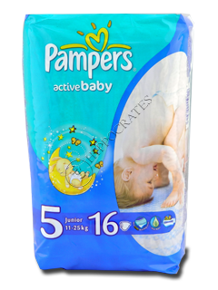 Pampers Junior 5 №16 11-18 kg