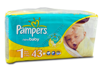 Pampers New Baby 1 № 43  2-5 kg