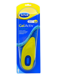 Scholl Стельки Gelactiv Every Day Men