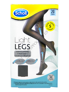 Scholl Colanti Light Legs 20 DEN black (S)